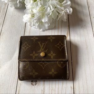 Louis Vuitton monogram women's compact wallet